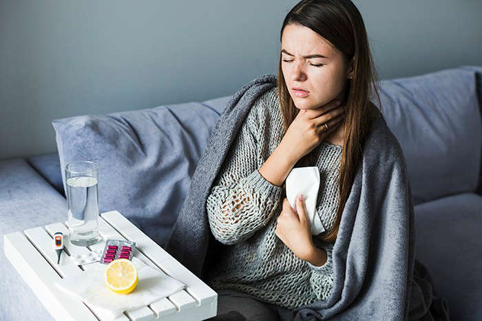 Síntomas de faringoamigdalitis aguda - HeelEspaña