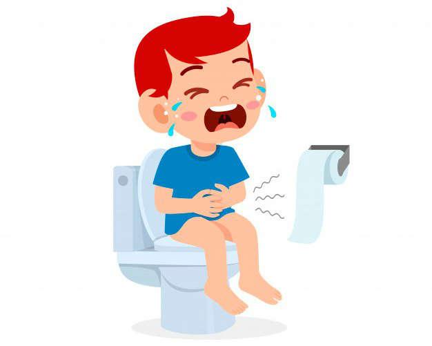 Estreñimiento y microbiota intestinal: nino triste estrenimiento - HeelEspaña