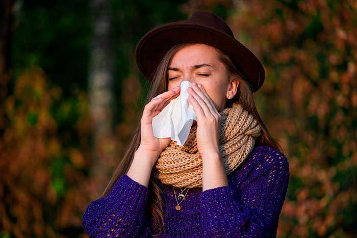 Efectividad del spray nasal para descongestionar la nariz