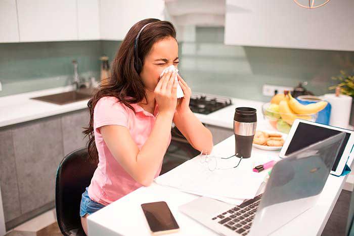 Síntomas de las patologías de las vías respiratorias