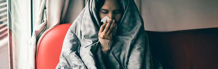 Incidencia de las patologías de las vías respiratorias en invierno