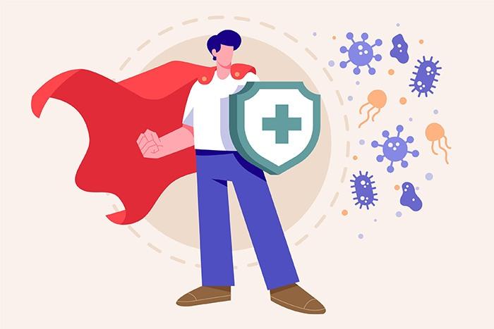 Por qué ayuda entrenar el sistema inmunitario