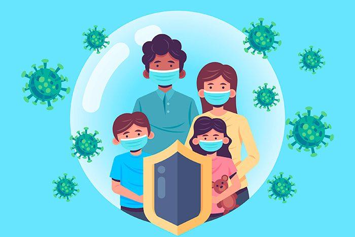 Cómo influye la composición de la microbiota en los síntomas del COVID