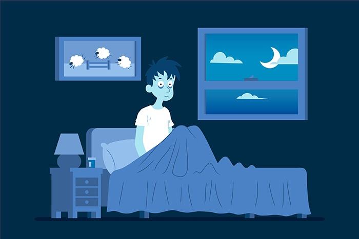 Confinamiento e insomnio a causa de la pandemia
