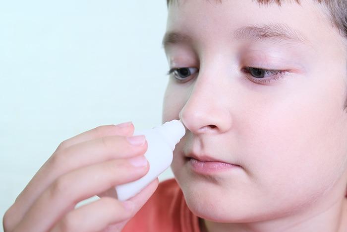 Spray nasal para la sinusitis